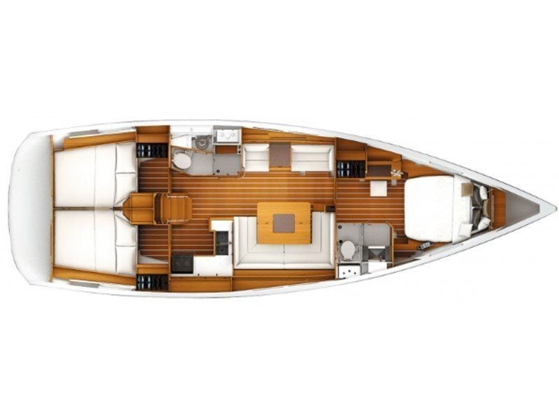 Sun Odyssey 439 owner version  (MADAME) Plan image - 15
