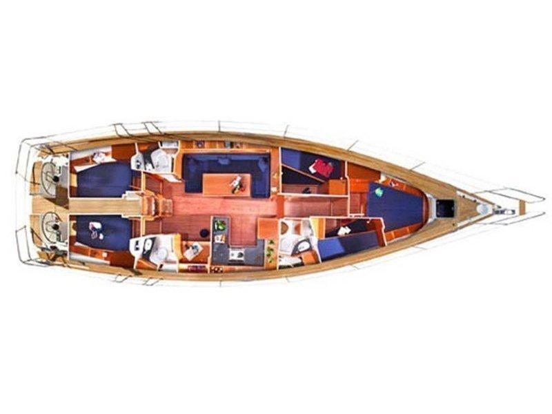 Bavaria 51 Cruiser (Arctic Breeze) Plan image - 3