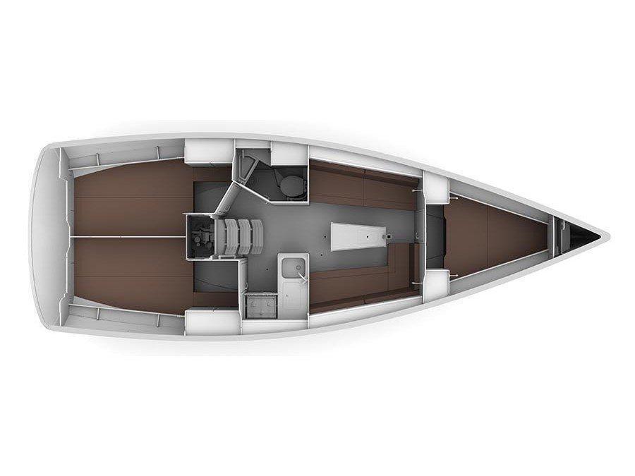 Bavaria Cruiser 34 (Valdo) Plan image - 2