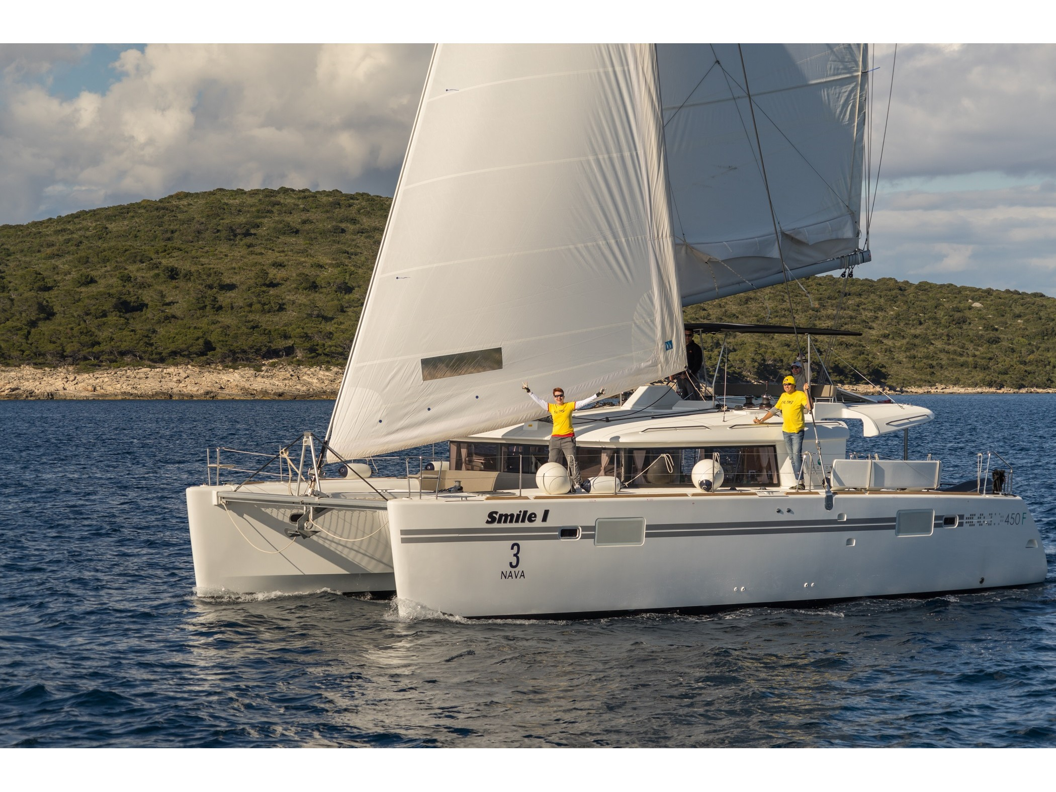 Lagoon 450 (2016) equipped with generator, A/C (sa (SMILE I) Main image - 0