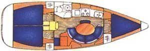 Sun Odyssey 34.2 (Papalagi) Plan image - 5