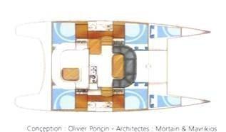 Nautitech Open 40 (MOONLIGHT ) Plan image - 36