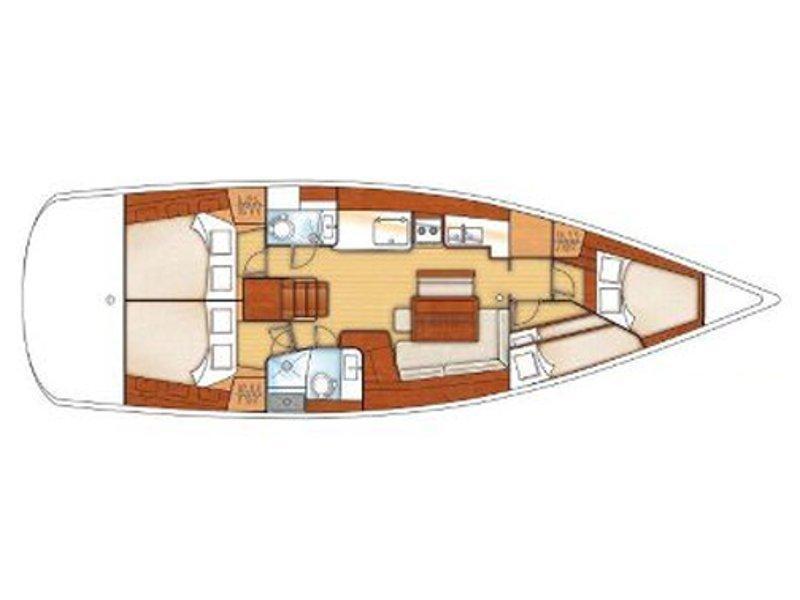 Beneteau 46 (FANI) Plan image - 2