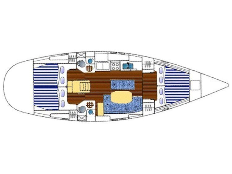 Oceanis 461 (Molly's) Plan image - 1