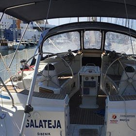 GALATEJA - new sails 2017