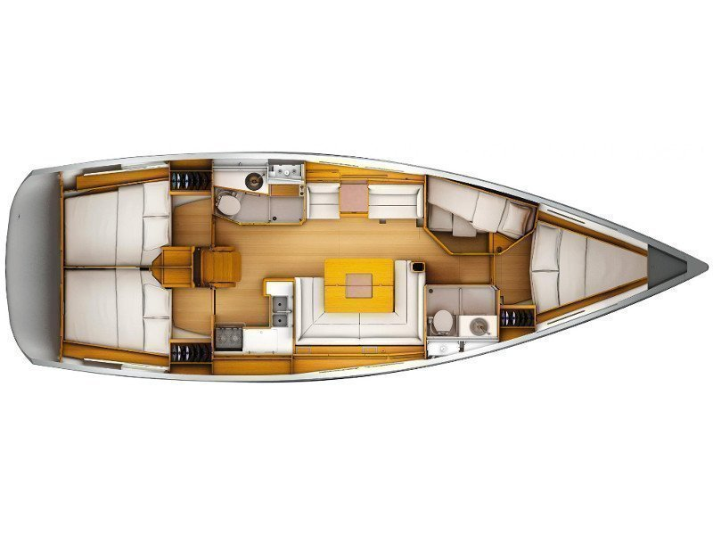 Sun Odyssey 449 (Port Royal) Plan image - 15