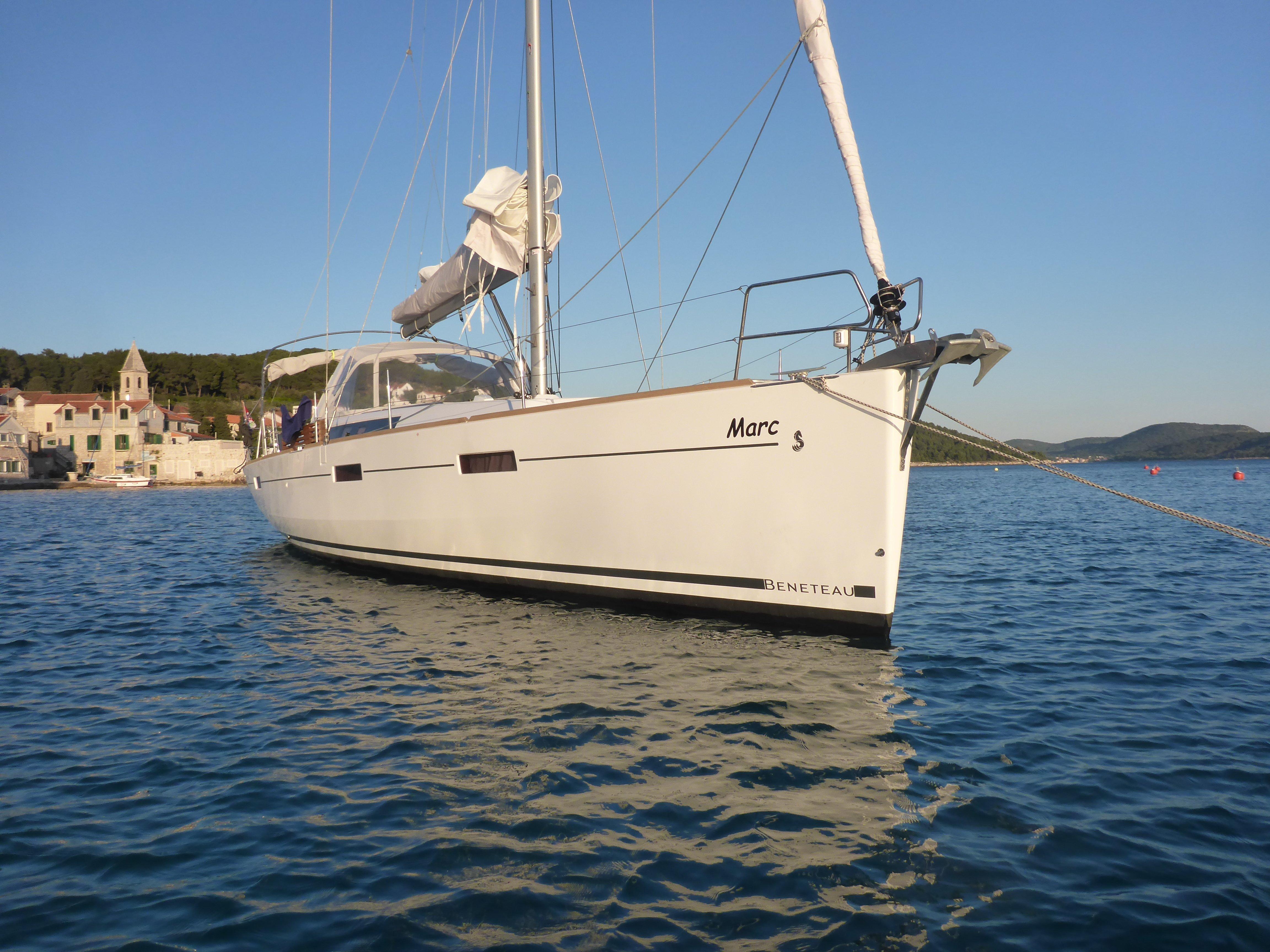 Oceanis 45 3 cabins (Marc)  - 4