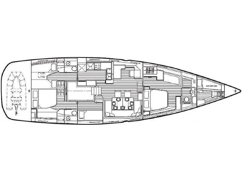 Jeanneau 64 (DANA QUEEN) Plan image - 2