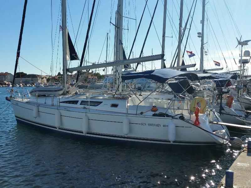 Sun Odyssey 40 (VIOLA ( new sails)) Main image - 0