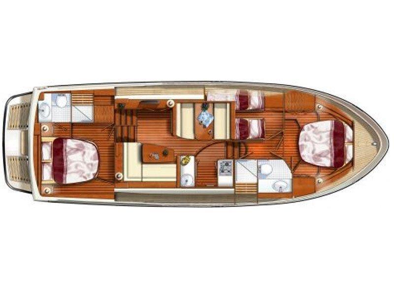 Linssen 410 (Salvador Dali) Plan image - 3