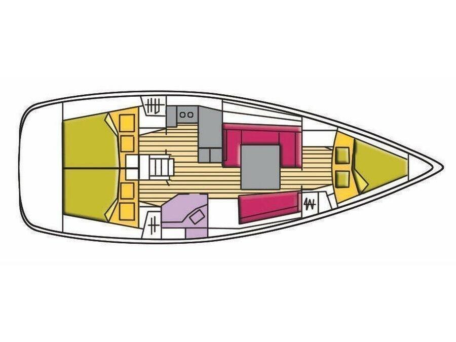 Oceanis 37 (Polaris) Plan image - 5