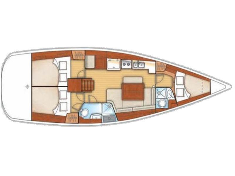 Oceanis 40 (Pepper) Plan image - 1