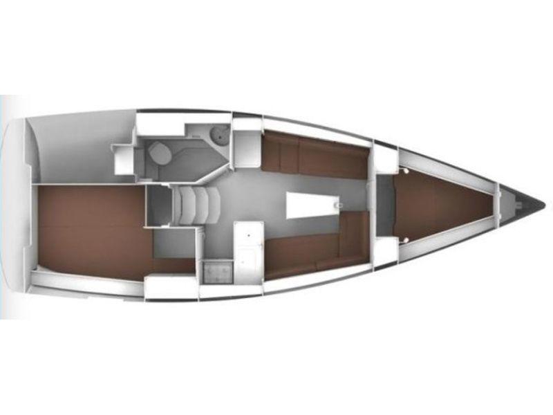 Bavaria Cruiser 34 (S/Y Althea) Plan image - 2