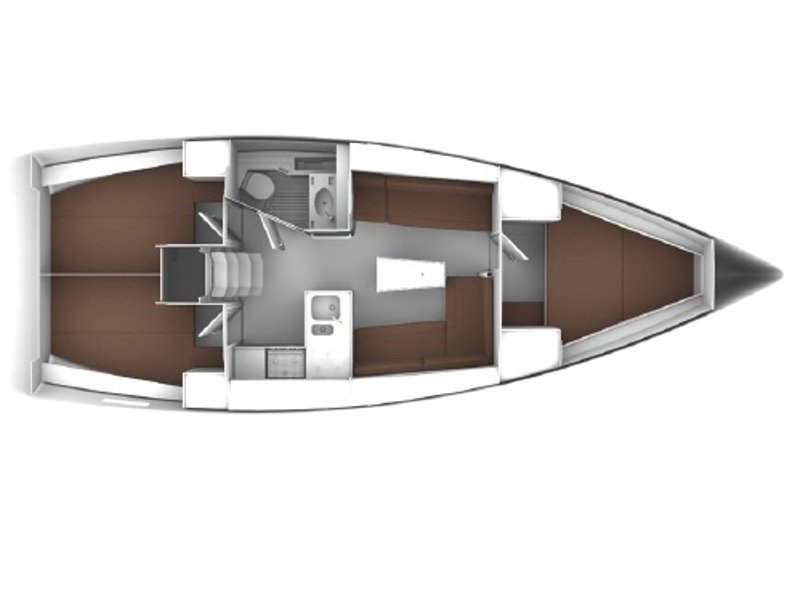Bavaria Cruiser 37 (Bea) Plan image - 9