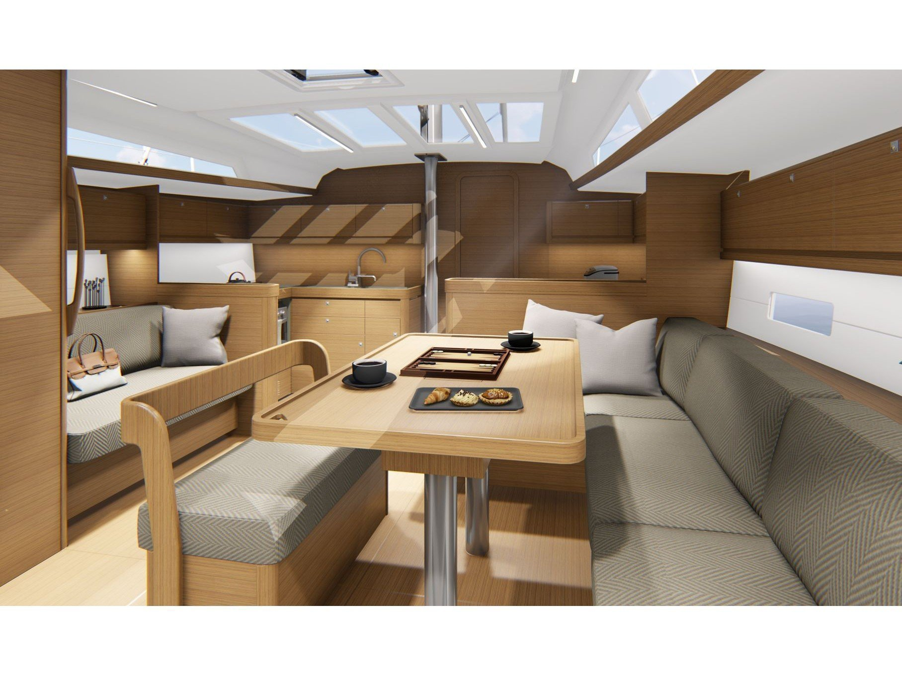 Dufour 430 Grand Large (Hydra) Interior image - 1