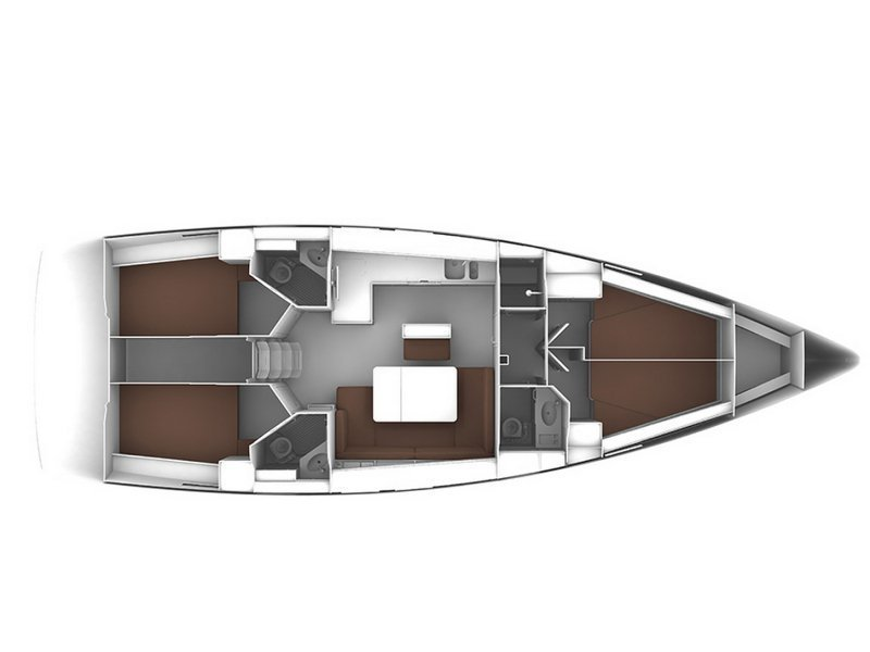 Bavaria Cruiser 46 (CARLOTTA) Plan image - 1