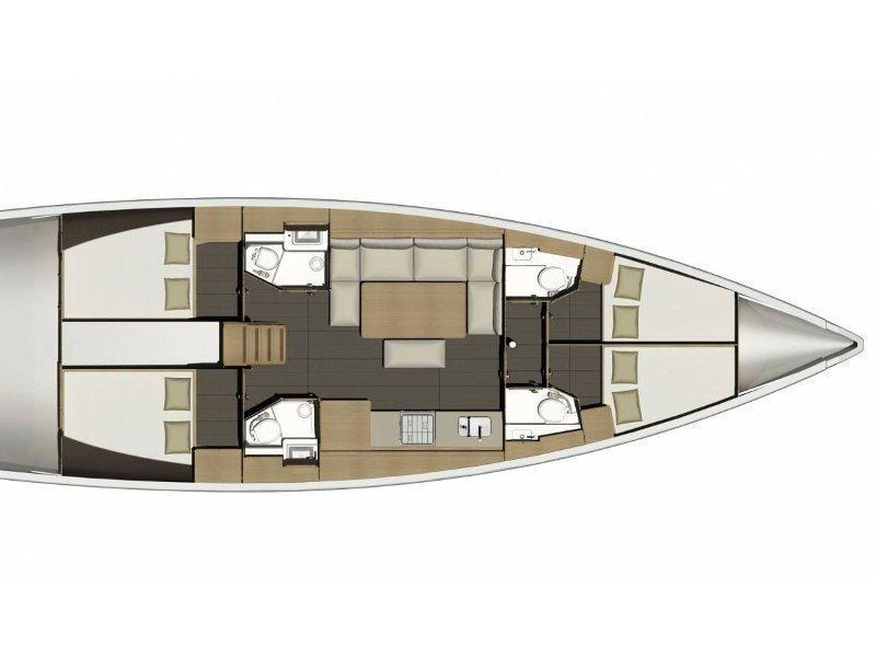 Dufour 460 GL (AVATAR) Plan image - 2