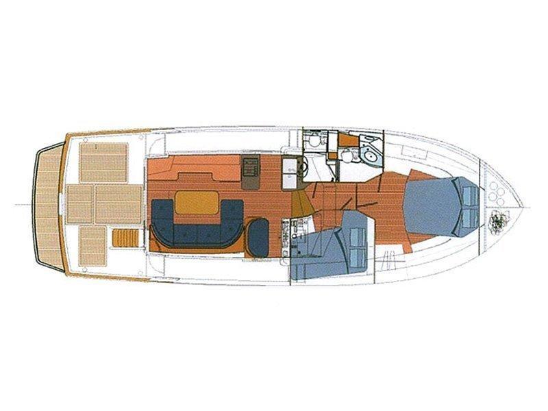 Beneteau S. Trawler 42 (Podatok) Plan image - 5