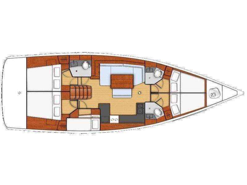 Oceanis 48 (Annita) Plan image - 8