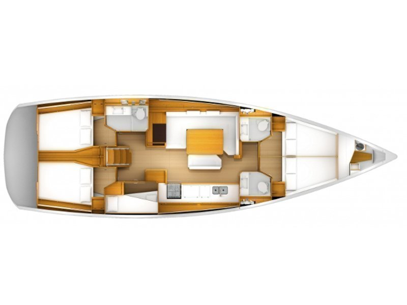 Sun Odyssey 509 (Oceanlord) Plan image - 1