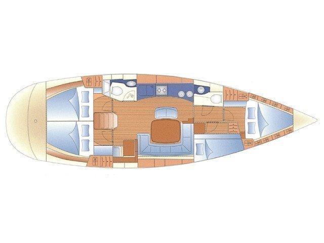 Bavaria 46 Cruiser (SIRIUS I) Plan image - 1