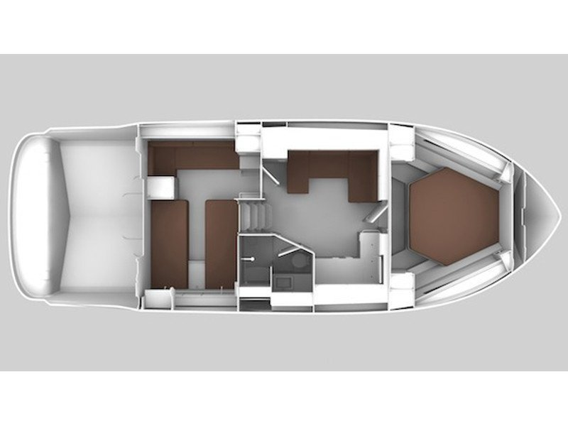 Bavaria 400 Coupe (CARPE DIEM) Plan image - 2