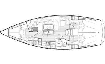 Bavaria 40 cruiser (My Toy) Plan image - 1