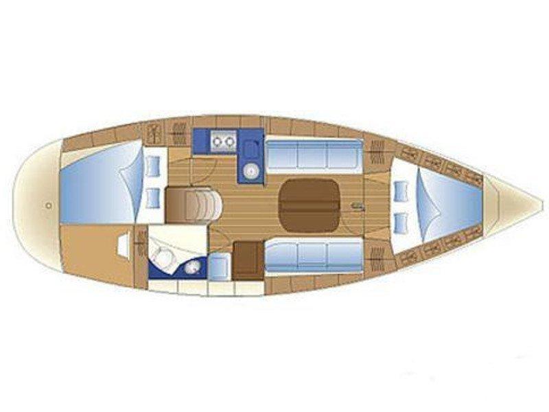 Bavaria 31 Cruiser (New 2) Plan image - 1