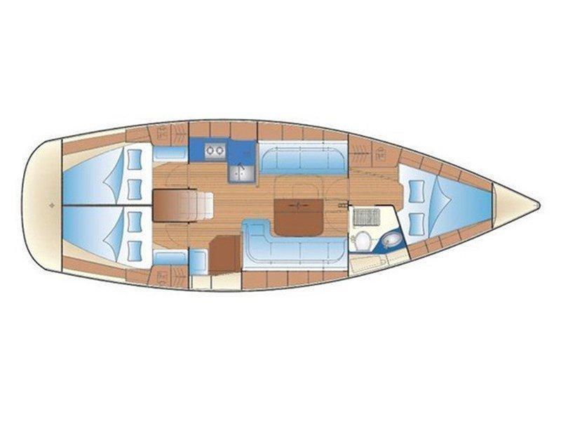 Bavaria 38 Cruiser (New 7) Plan image - 1
