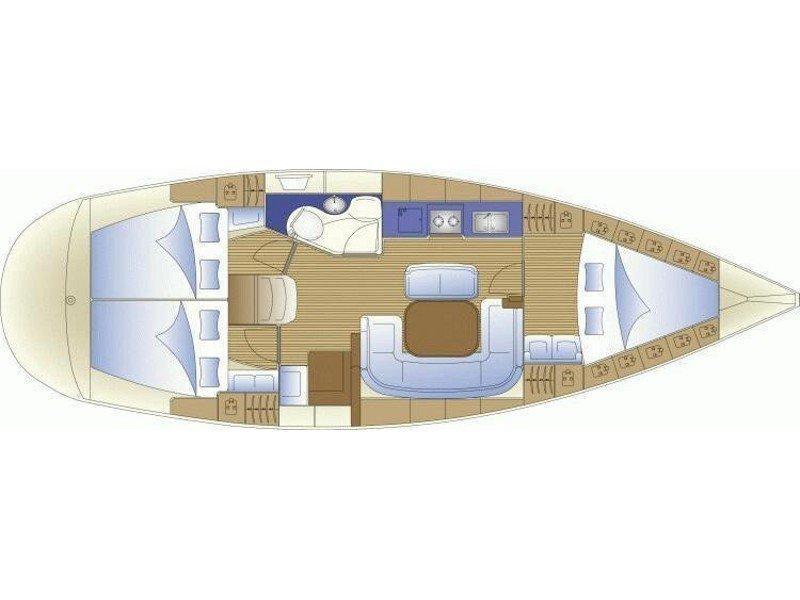 Bavaria 39 Cruiser (New 8) Plan image - 2