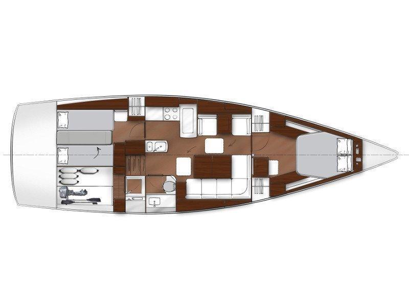Bavaria 42 Cruiser (New 10) Plan image - 1
