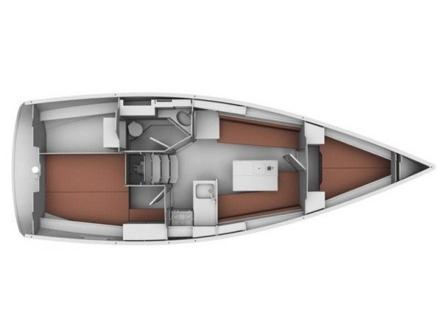 Bavaria 32 Cruiser (Ocean's Black) Plan image - 18