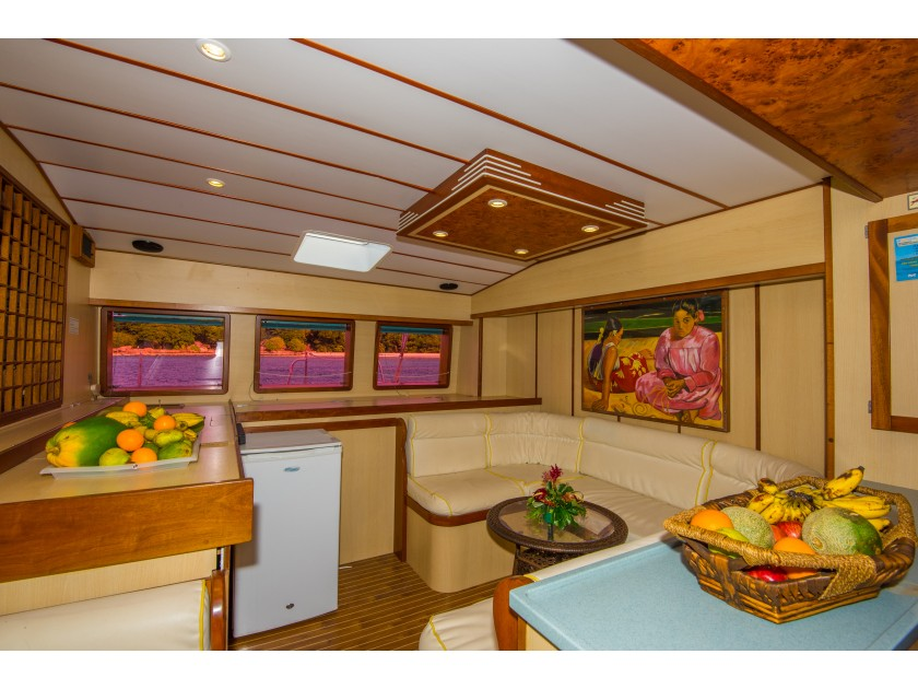 Mojito 78 - incl. crew & full board (Le Gauguin) Interior image - 2