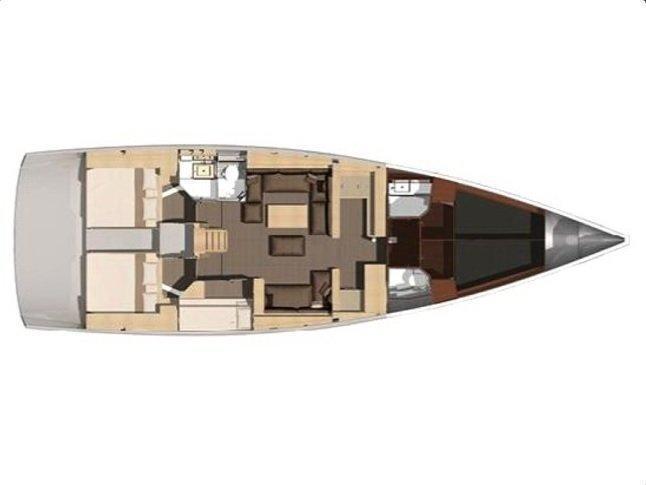 Dufour 512 Grand Large (Hera) Plan image - 7