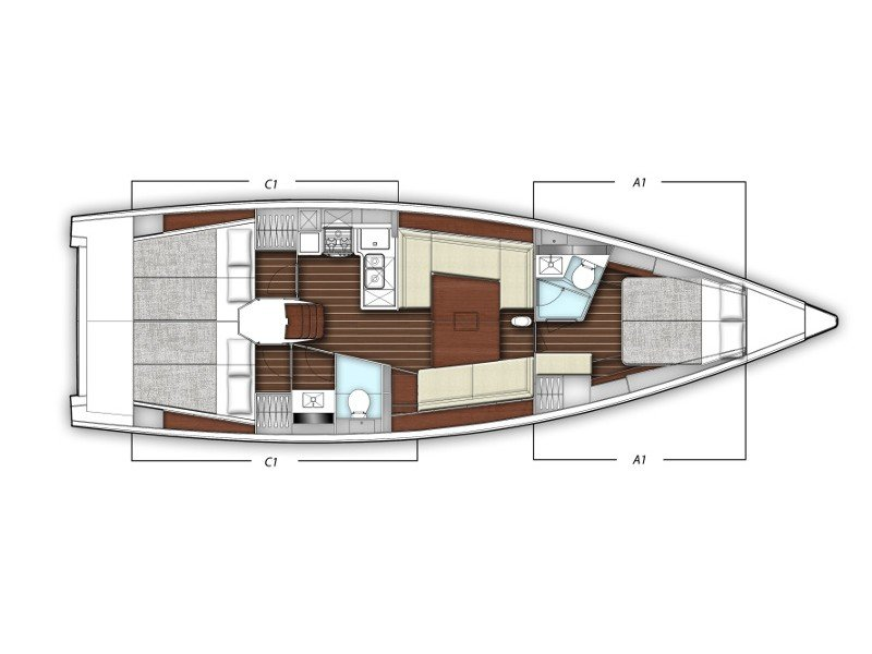 X4-6 model 2019 (Elena) Plan image - 45