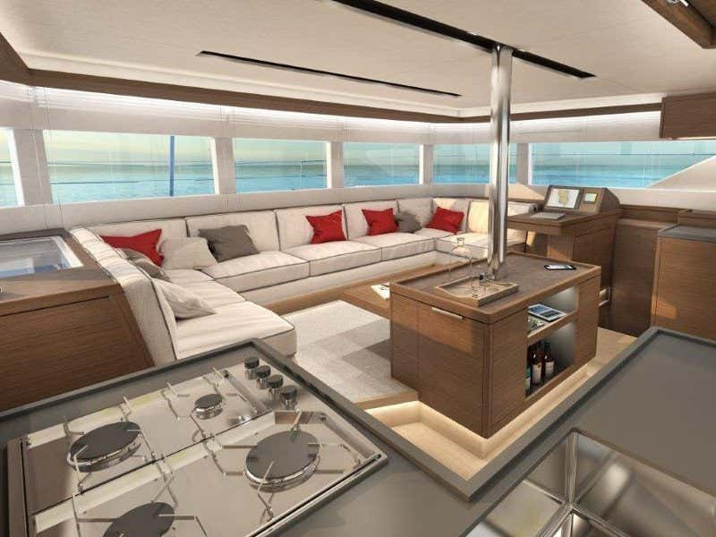 Lagoon 50 (5 cabs) Skippered (Lag502) Interior image - 3