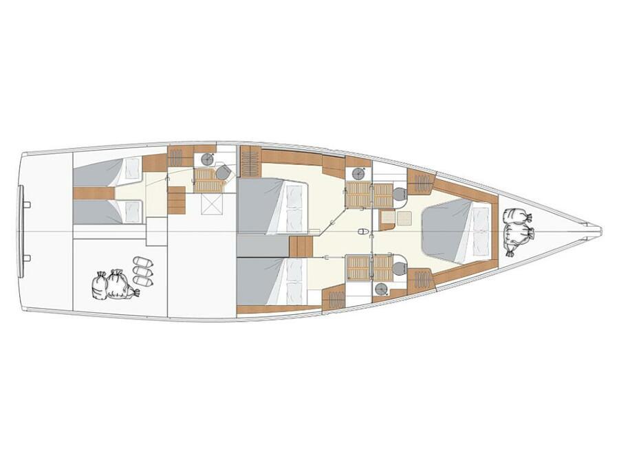 Moody 54 (Adventuro) Plan image - 5