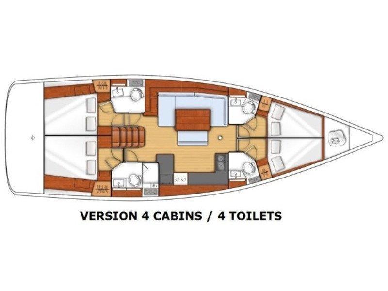 Oceanis 48 (Trim) Plan image - 8