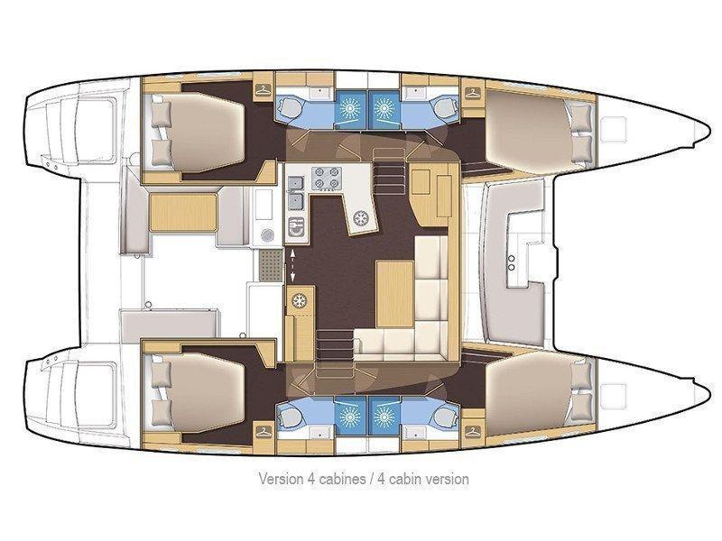 Lagoon 450 Sport (Lagoon 450 S) Plan image - 5