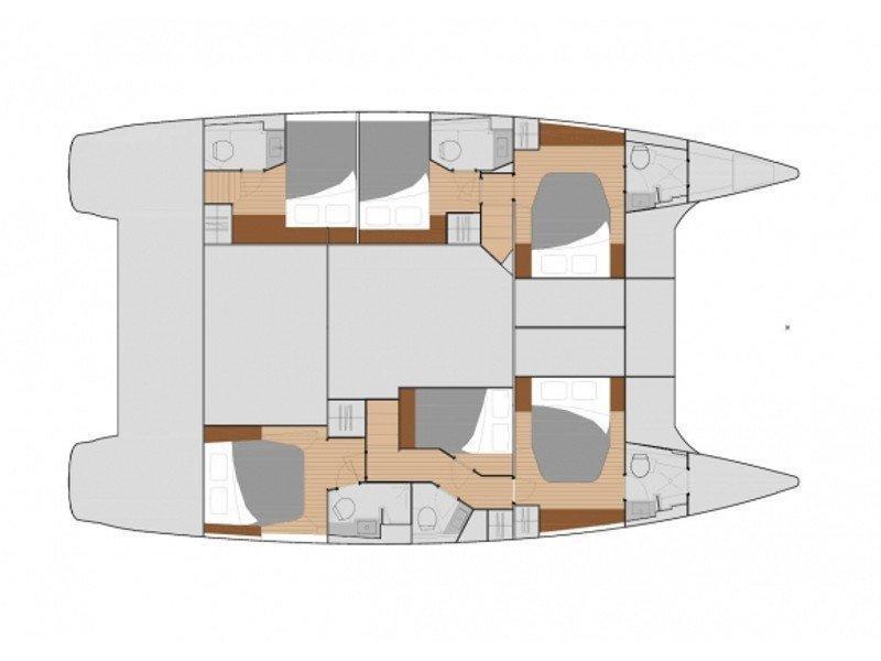 Saba 50 Quintet (6+1) (POCO LOCO) Plan image - 2