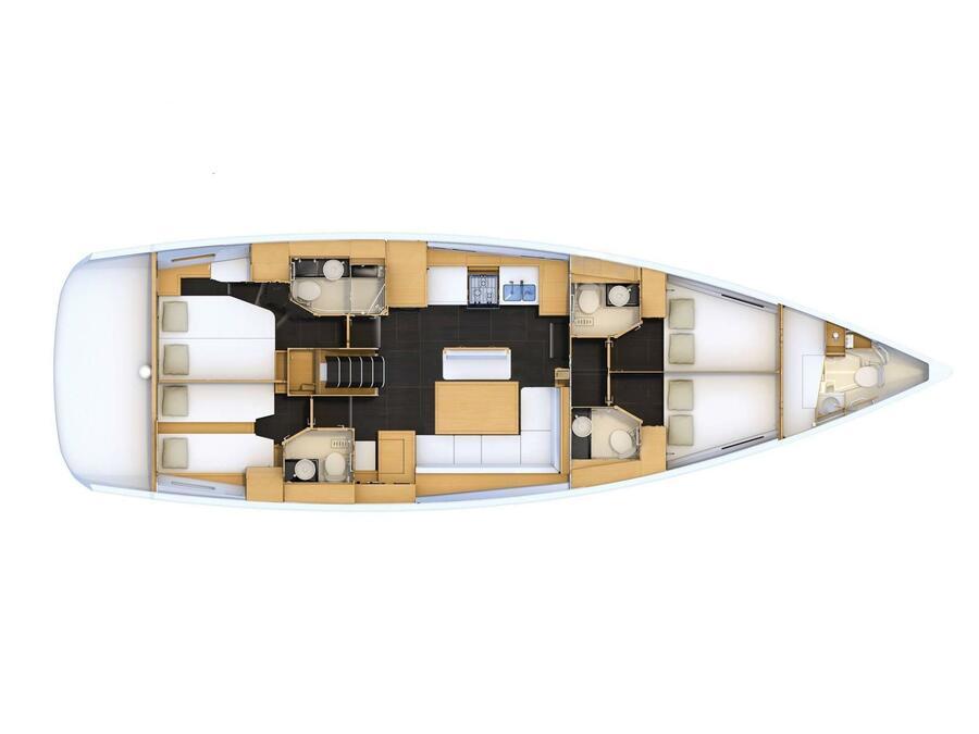 Jeanneau 54 (no name yet) Plan image - 2