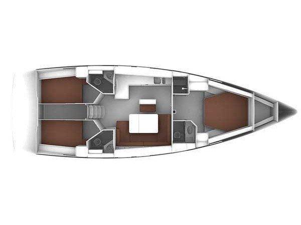 Bavaria Cruiser 46 OW. ('njoy) Plan image - 2