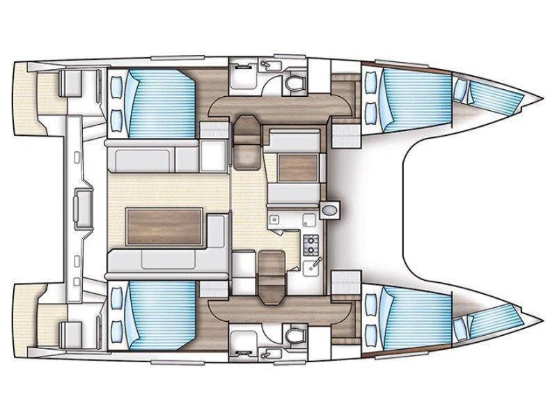 Nautitech Open 40 (Silverstar III) Plan image - 5