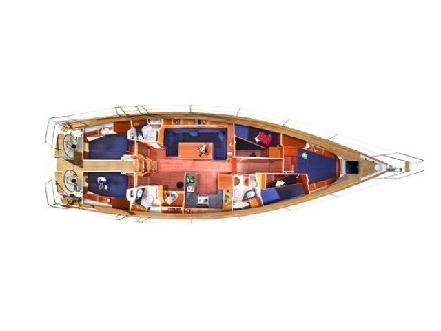 Bavaria 51 Cruiser (Feel Free) Plan image - 6