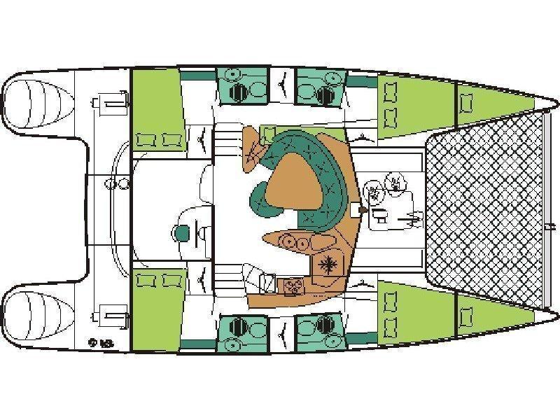 Bahia 46 (Vetrogon) Plan image - 18