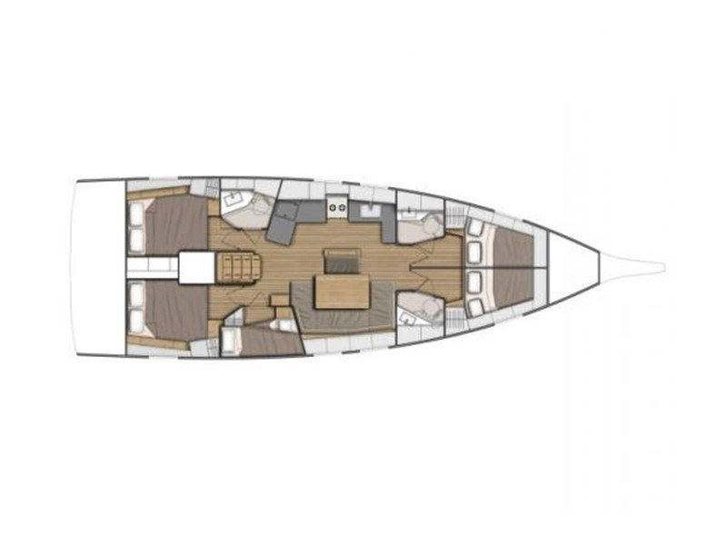 Oceanis 46.1 (Greta NEW 2020! - BT) Plan image - 8