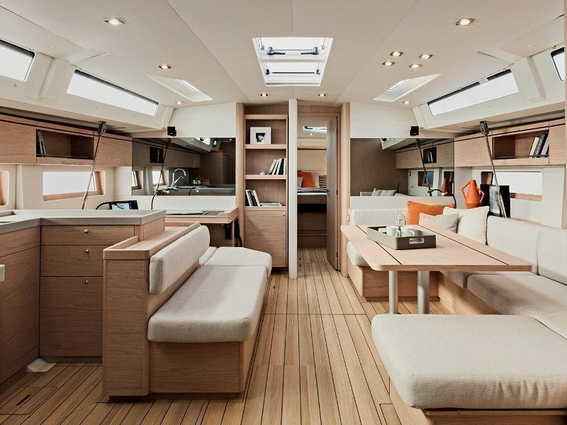 Oceanis 51.1  (Zephyr B with A/C and generator) Interior image - 89