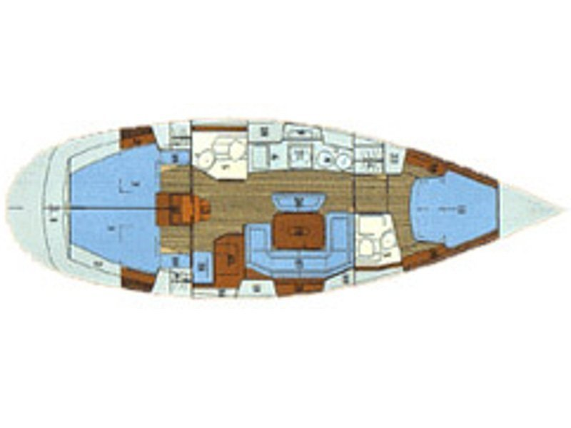 Bavaria 41 Exclusive (VoBe) Plan image - 1
