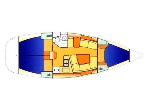 Sun Odyssey 37 (ADELANTE) Plan image - 4