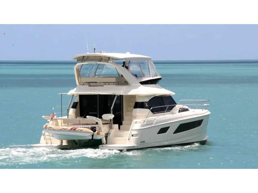 Aquila 44 Power Catamaran (Adriatic Z) Main image - 0